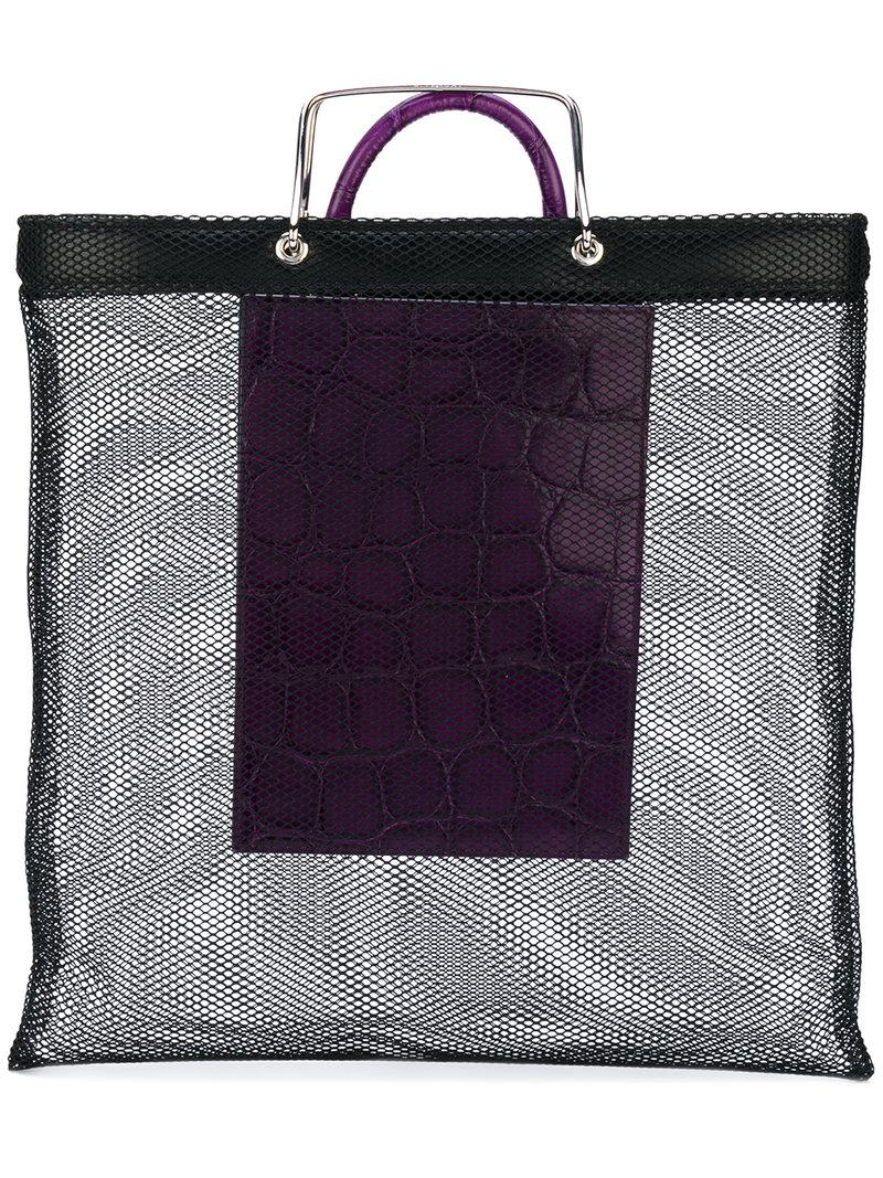 mesh shopping bag - Black Givenchy 8yC4R