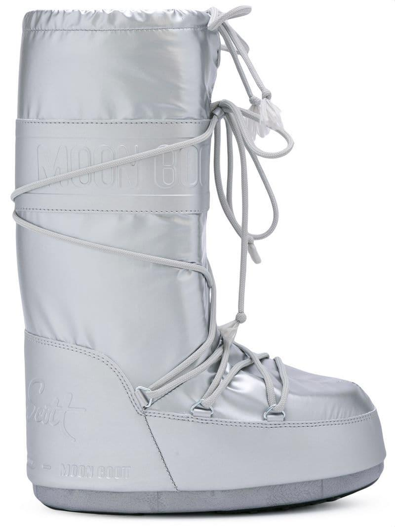 d9e20ac37fed Lyst - Jeremy Scott X Moon Boots in Metallic