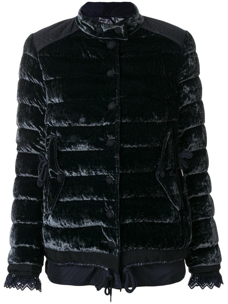 dab26dafe6 Moncler Giacca 'beatrice' in Blue - Lyst