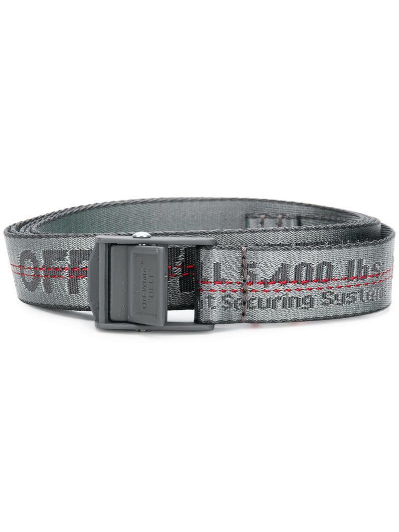 Lyst - Cinturón Industrial Off-White C O Virgil Abloh de color Gris 43290f7271f2