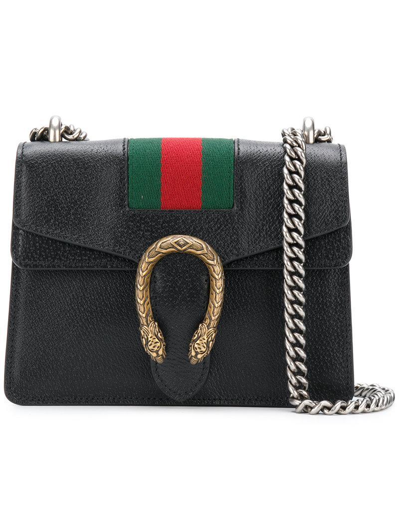 Gucci Linea Cestino Mini Web Straw Shoulder Bag mN02IdJ