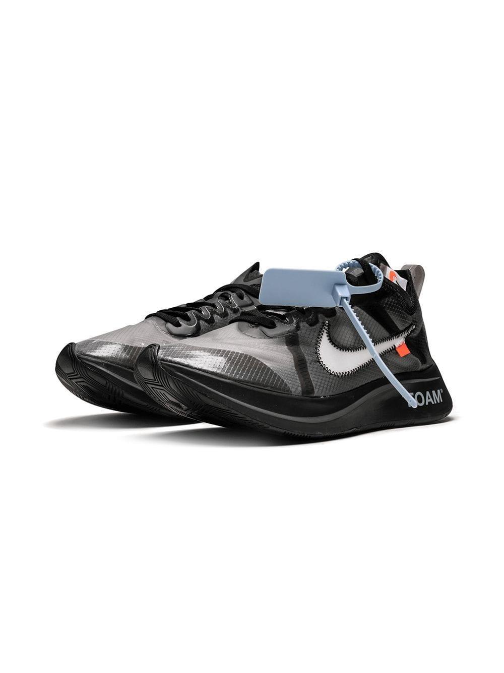 88aedd26c24479 Nike - Black X Off White The 10  Zoom Fly for Men - Lyst. View fullscreen