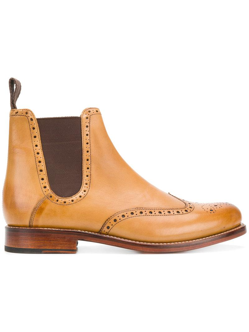Wholesale Pictures Online lace-up ankle boots - Brown Grenson Clearance Store For Sale TXYxgkBQEc