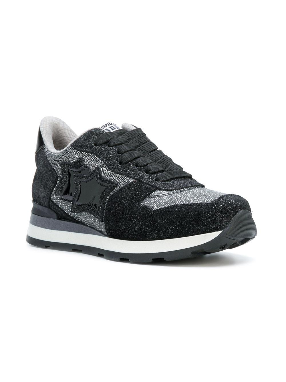 shimmer panelled sneakers - Black Atlantic Stars K88a6N4