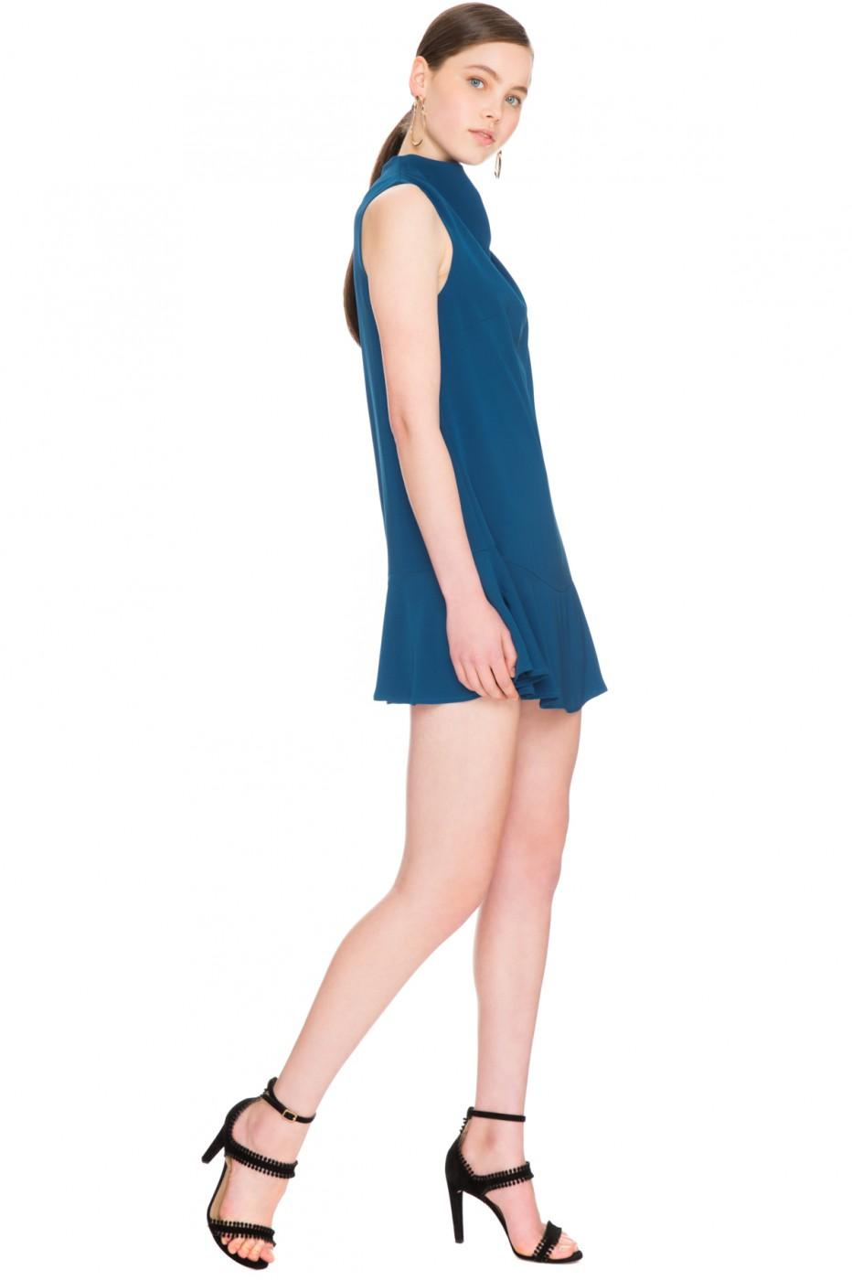 Lyst - Keepsake Keepsake True Lies Mini Dress In Marine Blue in Blue