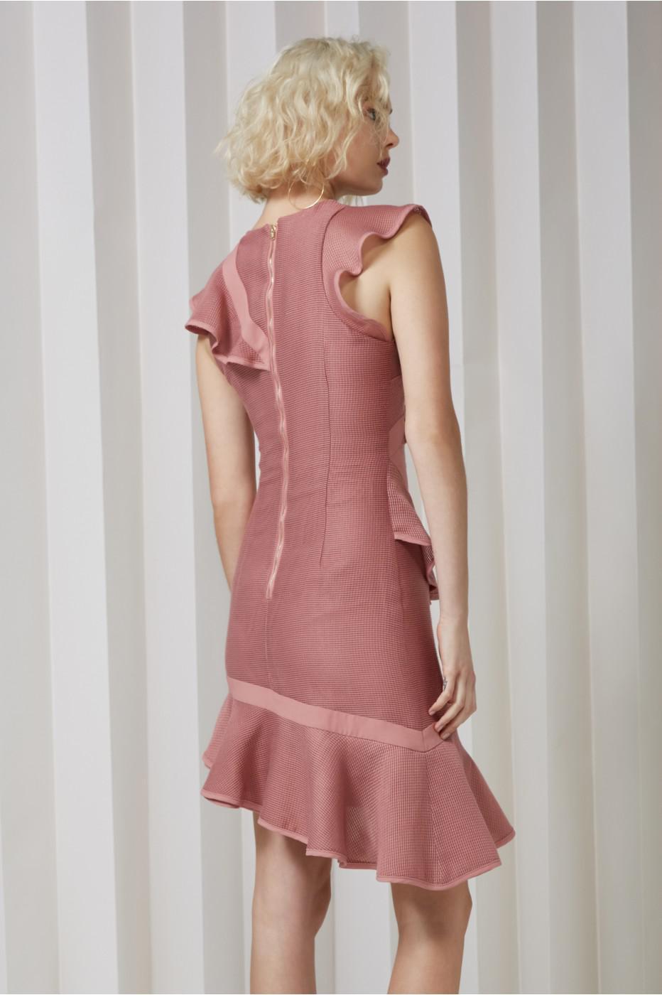 97e9e614e341 Keepsake Flashing Lights Mini Dress in Pink - Lyst