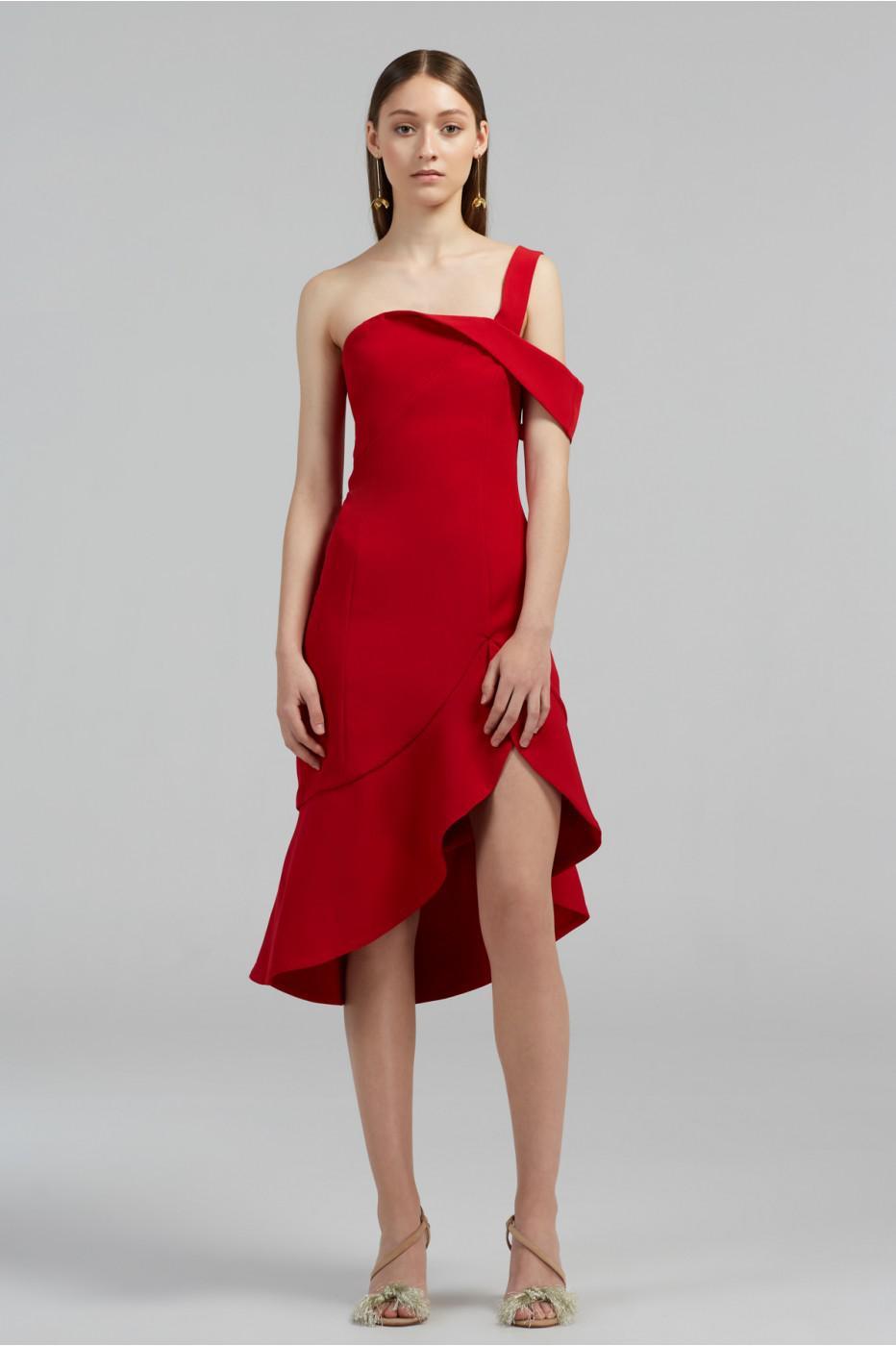 0800b95e33c Keepsake Shooting Star Dress in Red - Lyst