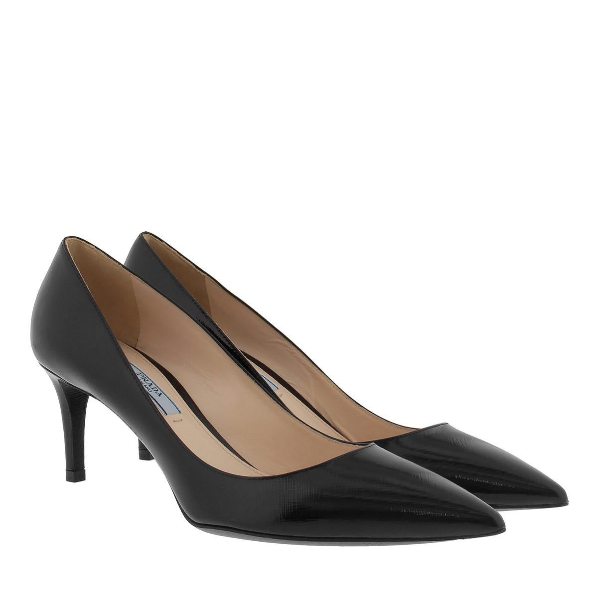 Pumps - Calzature Donna Vitello Lux Pumps 90 Nero - black - Pumps for ladies Prada FMdgE