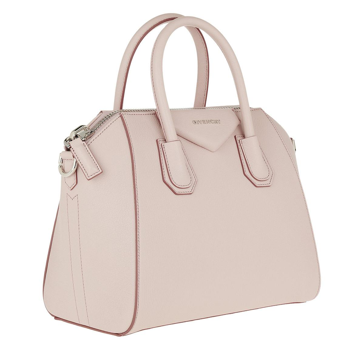 e1bee1e4762 Givenchy Pink Small Antigona Bag in Pink - Save 28% - Lyst