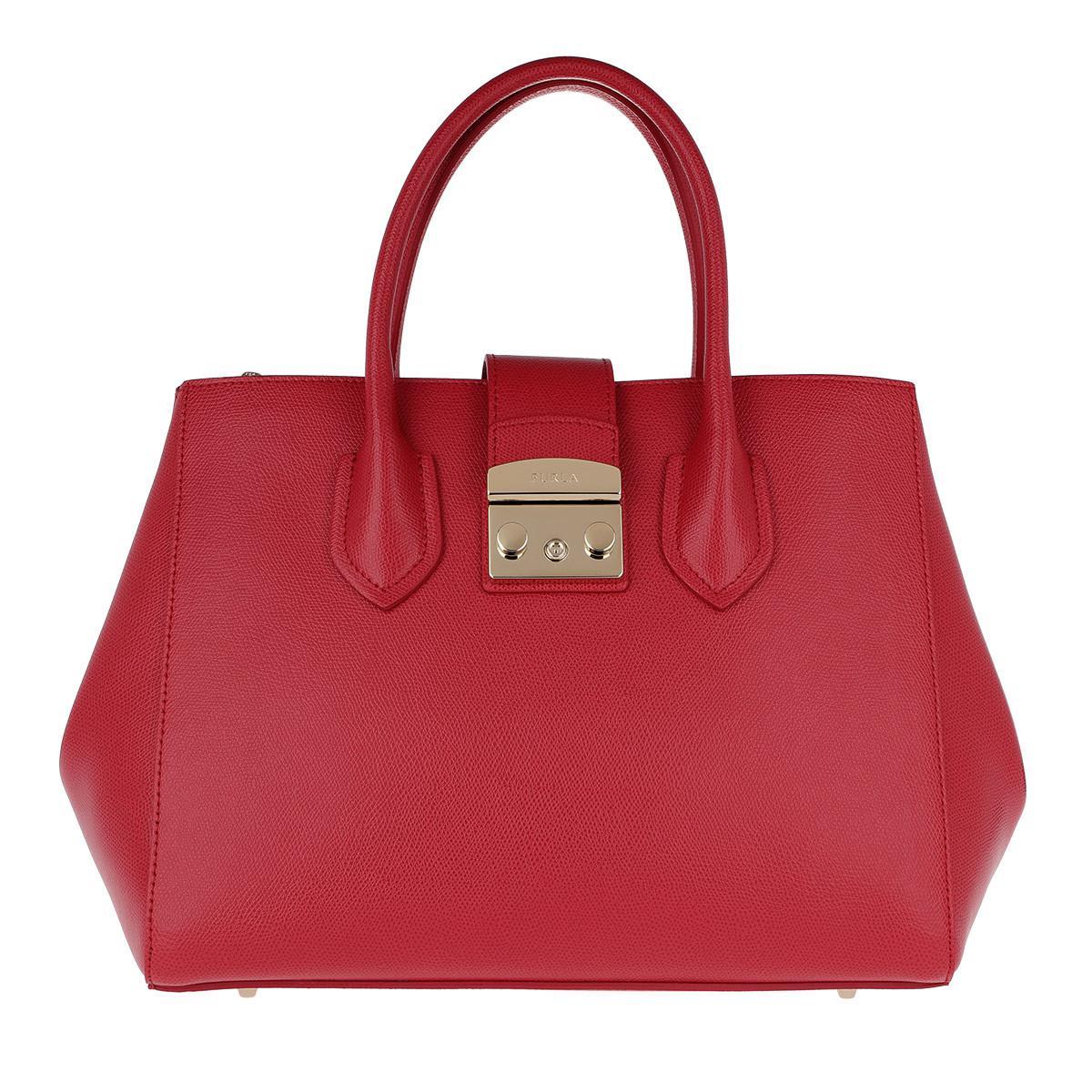 Furla Metropolis M red leather bag DiB5cr9