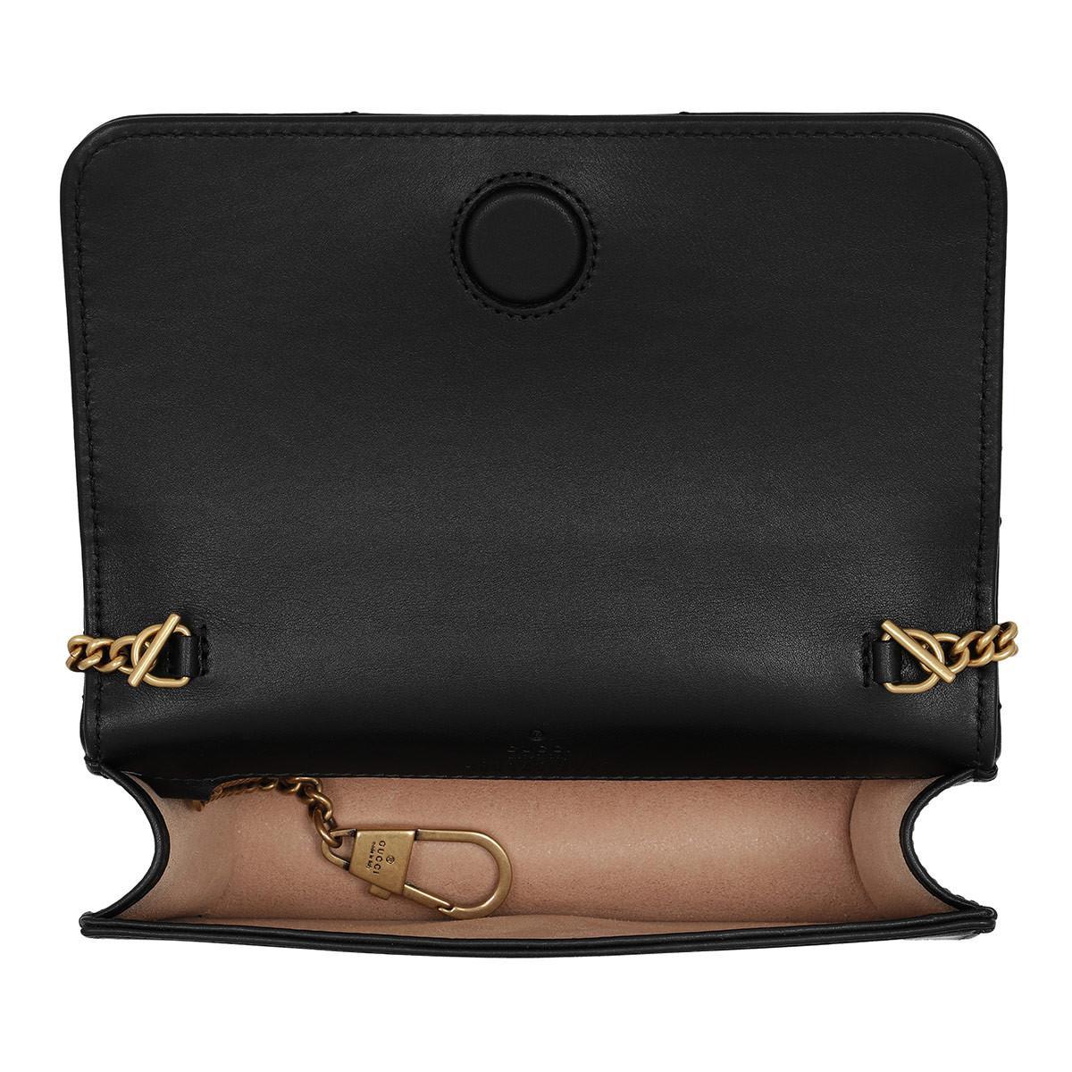 67bec4eb55 Gucci Gg Marmont Shoulder Bag 2.0 Nero in Black - Lyst