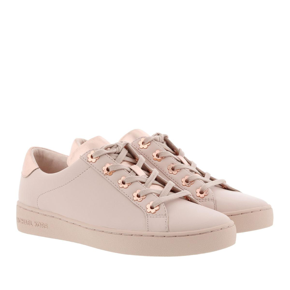 1bd14a6062b2 Michael Kors Irving Lace Up Sneaker Soft Pink in Pink - Lyst