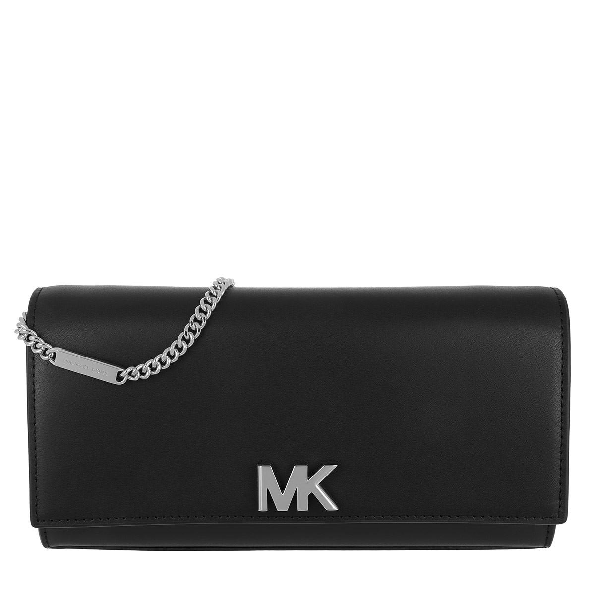 d8d919e39b6 Michael Kors Mott Chain Crossbody Bag Black in Black - Save 20% - Lyst