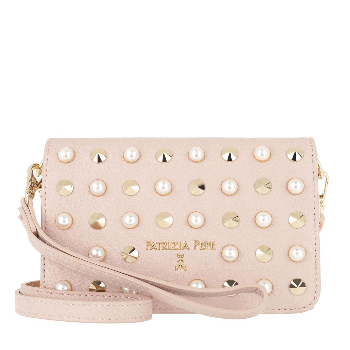 b796f65a3d Patrizia Pepe Patterned Crossbody Bag Rock Rose/pearl in Pink - Lyst