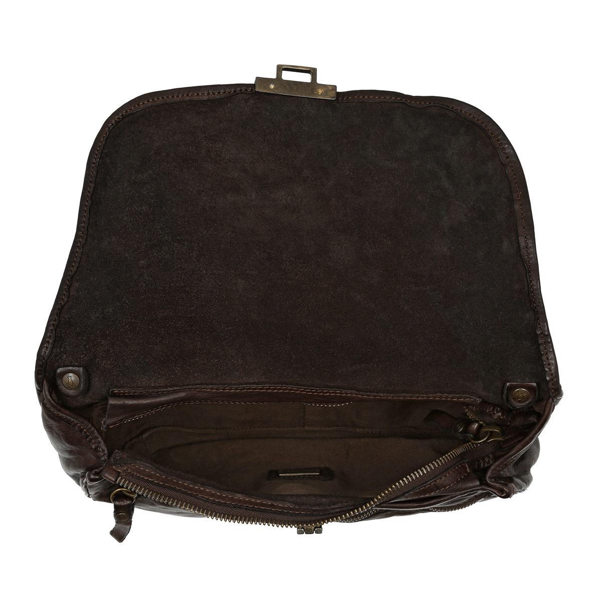 ced7a7b426 Campomaggi Tracolla Grande Vachette Shoulder Bag Moro in Black - Lyst