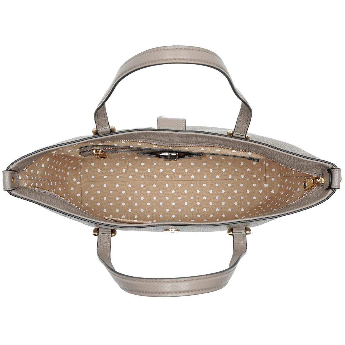 Dolce   Gabbana Dolce Drummed Calfskin Shopping Bag Fango Chiaro - Lyst 30482574e40e6