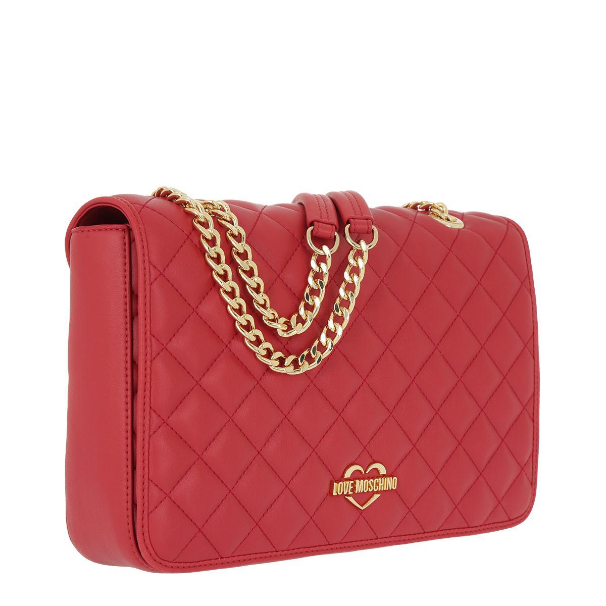 Cross Body Bags - Soft Calf Impunture Flap Crossbody Rosso - red - Cross Body Bags for ladies Prada cUEnuheo