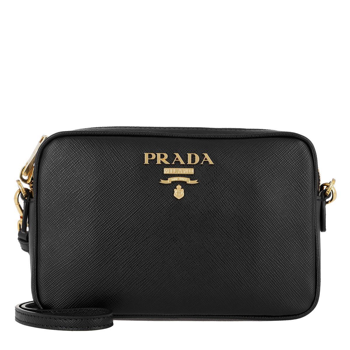 Cross Body Bags - Calf Leather Crossbody Multistrap Black - black - Cross Body Bags for ladies Prada Vnxe8Rs7