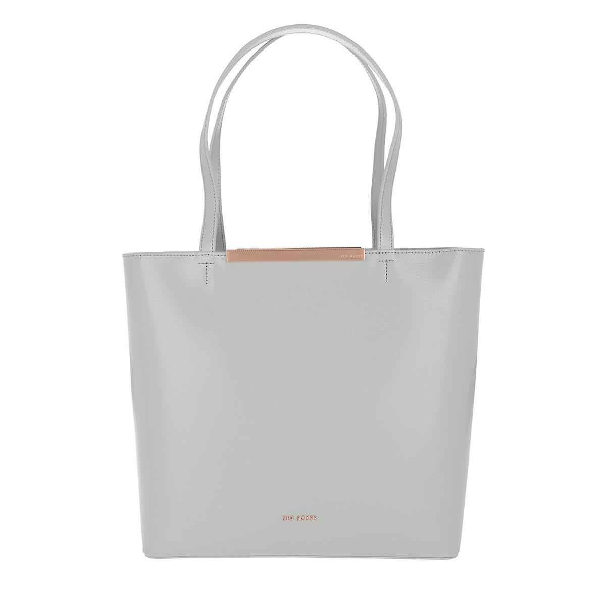 a7cf37c6a9f24d Ted Baker Melisa Core Large Leather Shopper Grey in Gray - Lyst