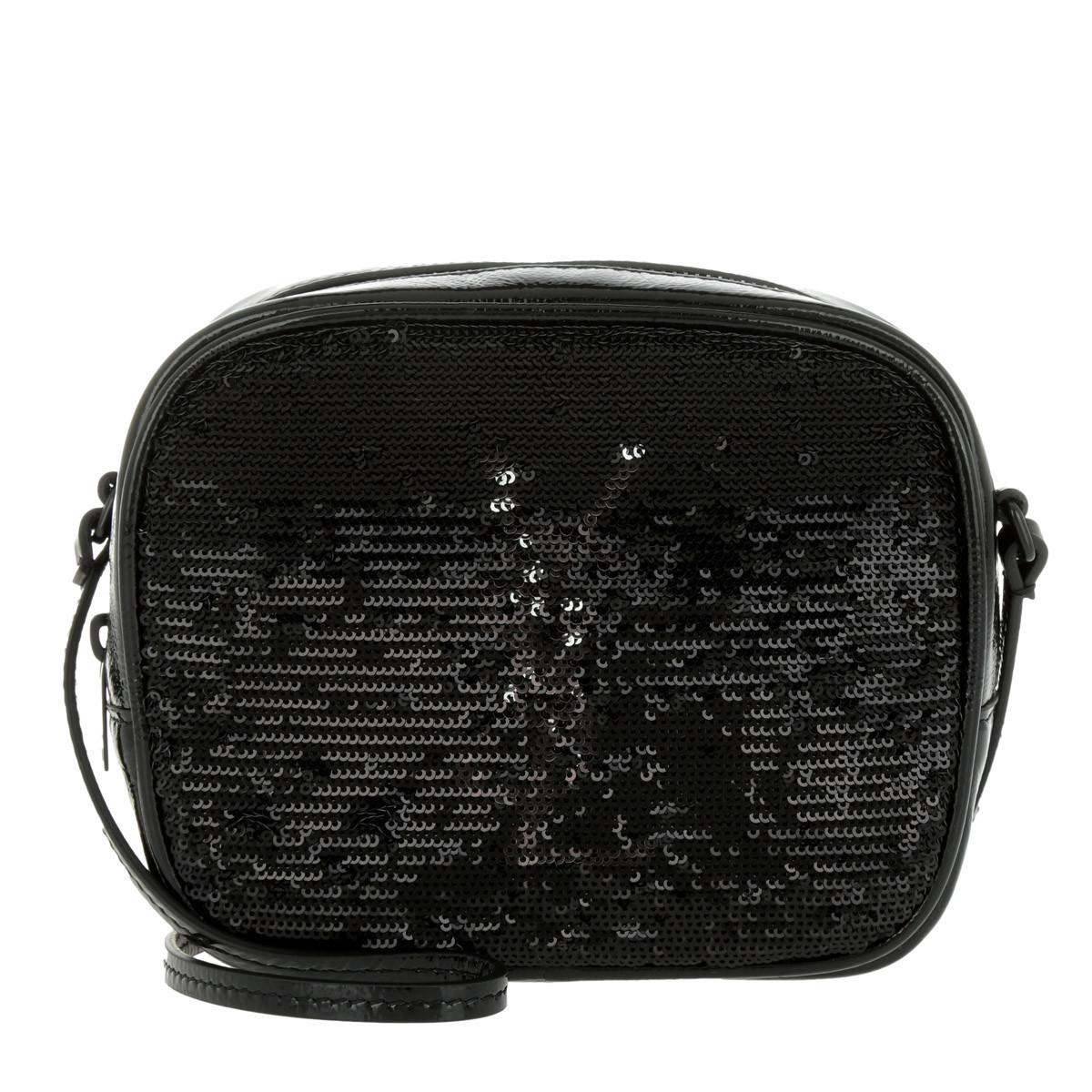 3812c84912 Saint Laurent Ysl Monogramme Sl Blogger Bag Noir in Black - Save 28 ...