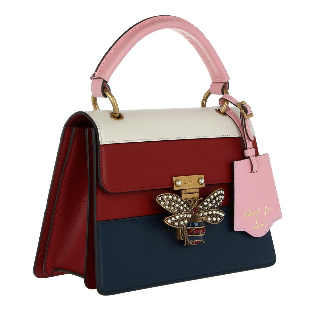 16c8cd35d Gucci Queen Margaret Small Top Handle Bag Multicolor - Lyst