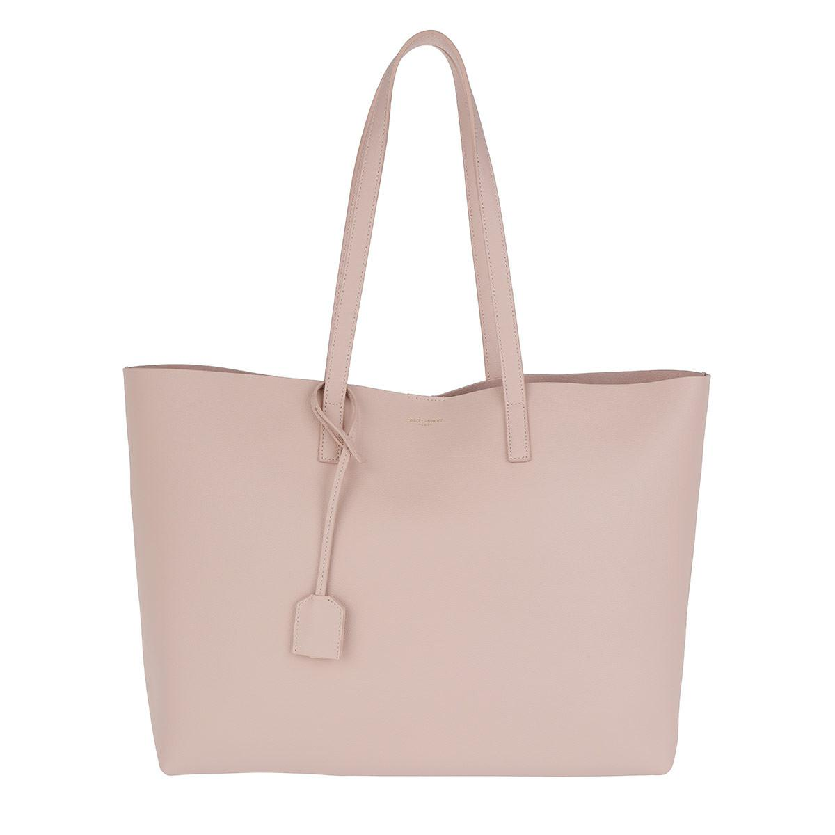 YSL Large Shopping Bag Rouge Eros Tote rot Saint Laurent u4nal