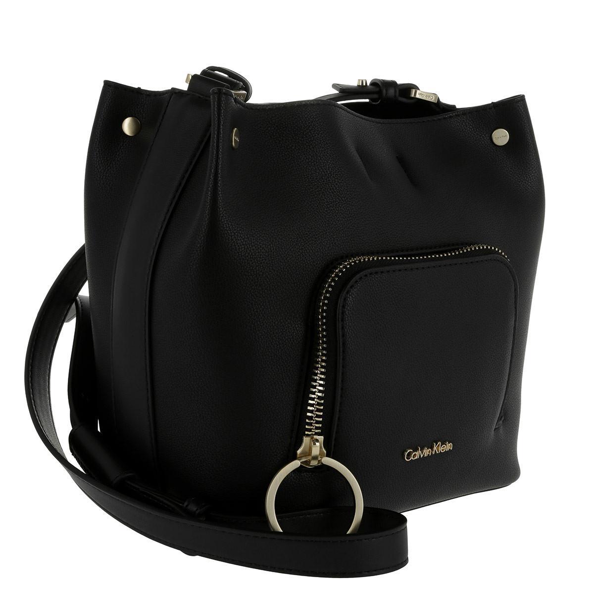 Womens Natasha Cube Cross-Body Bag Black black (black) Calvin Klein w3zhJtSG