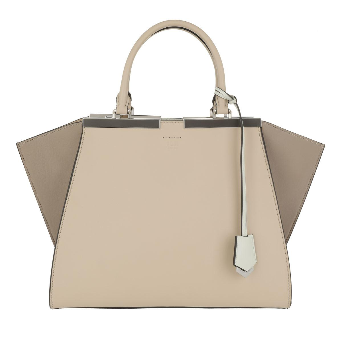 Fendi Calfskin 3jours Bag in Natural - Save 26.769230769230774% - Lyst af95533babc04