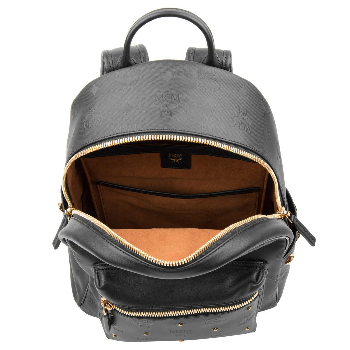 7bd7dd6ed0f1a MCM Stark Odeon Backpack Small Black in Black - Lyst
