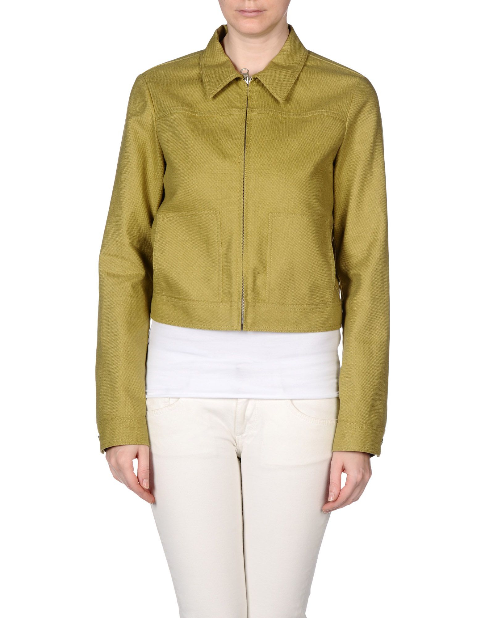 a4a7a191841e See By Chloé Jacket in Green - Lyst