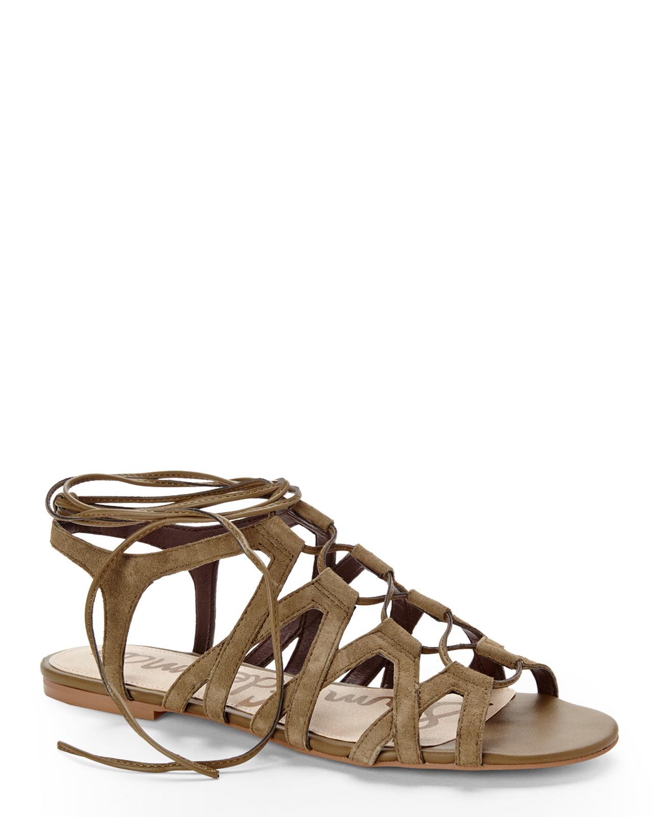 49faaa1c93ba Lyst - Sam Edelman Green Boyden Gladiator Sandals in Green