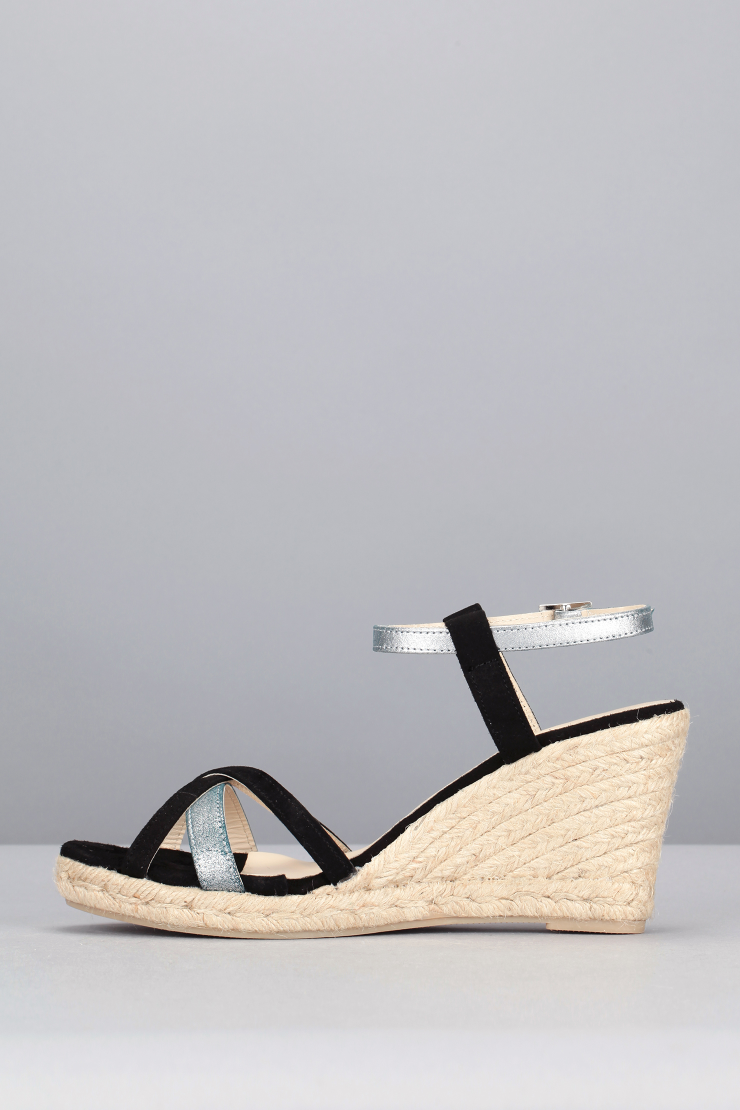 Mellow Yellow Wedges In Black Lyst