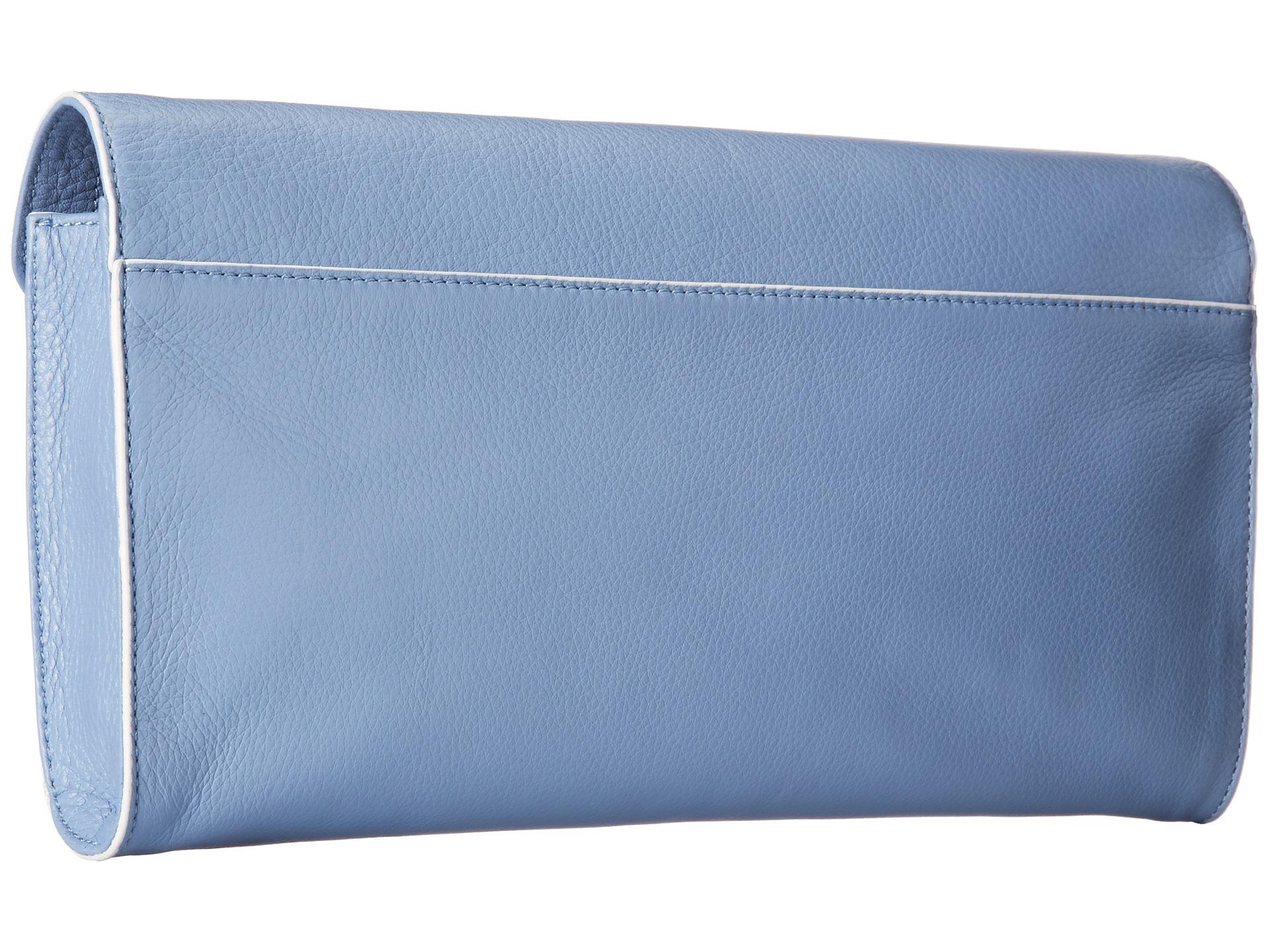 40c7c7aeeb22 Lyst - Vera Bradley Harper Clutch in Blue