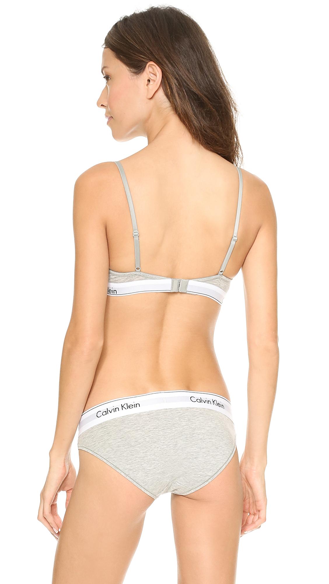 6836475999a Calvin Klein Underwear Modern Cotton T Shirt Bra