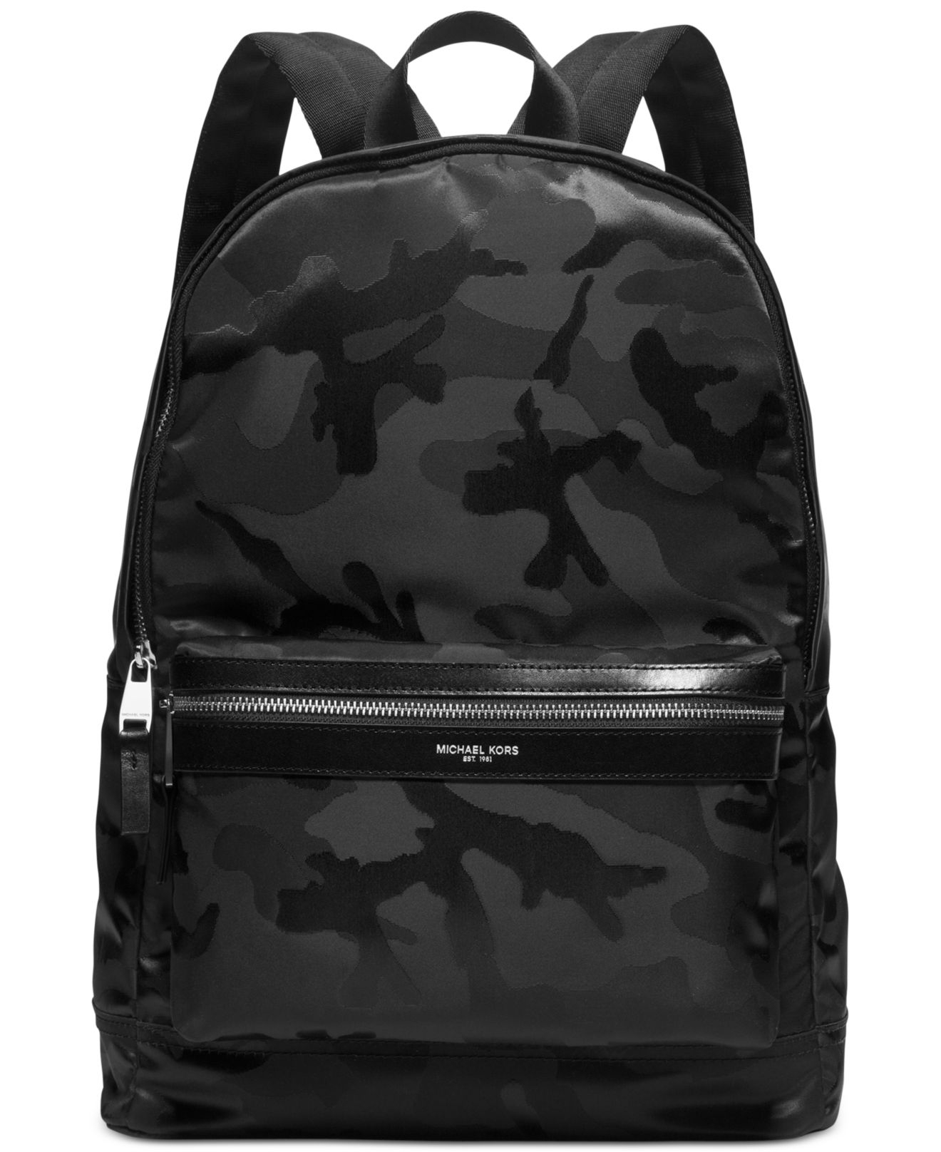 Lyst - Michael kors Kent Camo Backpack in Black for Men