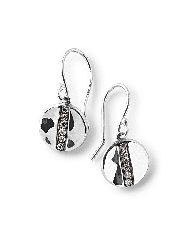 Ippolita Sterling Silver Senso Mini Disc Drop Earrings