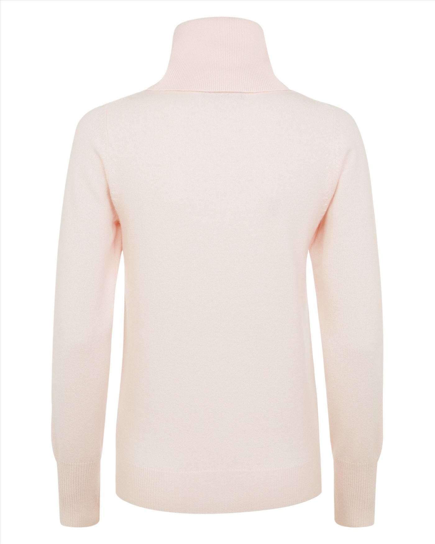 Jaeger Cashmere Cowl Neck Sweater in Pink | Lyst