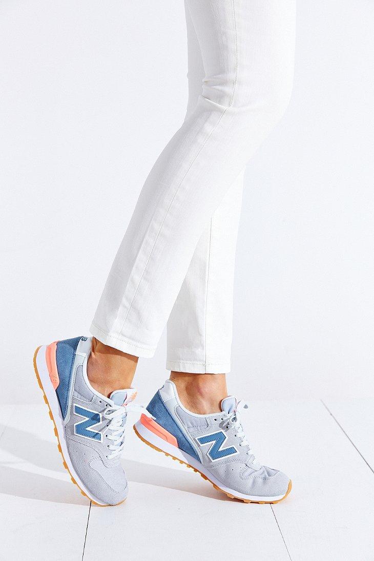 New Balance Gray 696 Capsule Running Sneaker