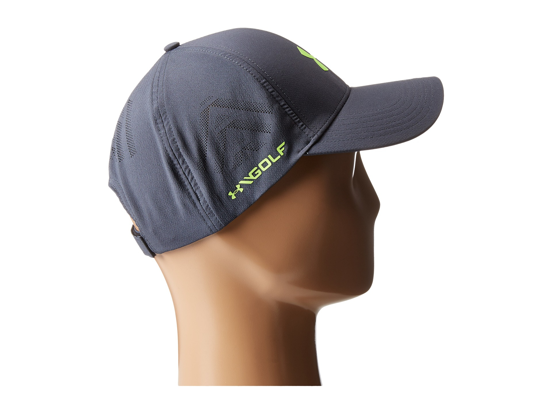 47bbd29e2ad Lyst - Under Armour Ua Driver Adjustable Golf Cap in Gray for Men