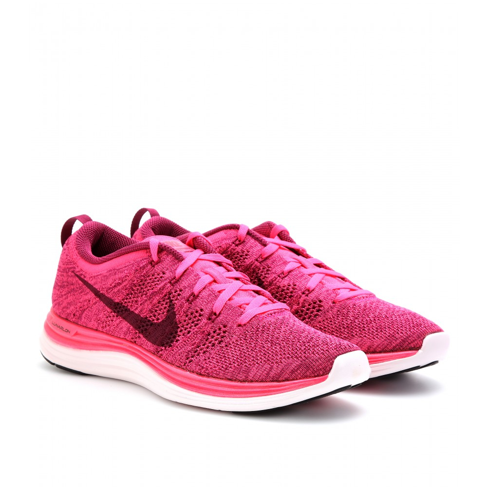 All Pink Nike Running Shoes