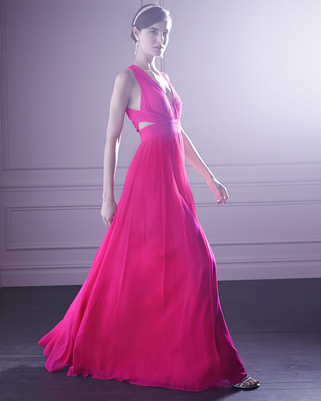 Aidan Mattox Black Lace Gown – Dresses for Woman