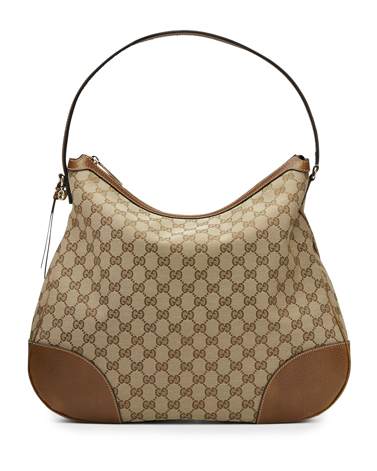 Gucci Bree Original Gg Canvas Hobo Bag in Brown | Lyst