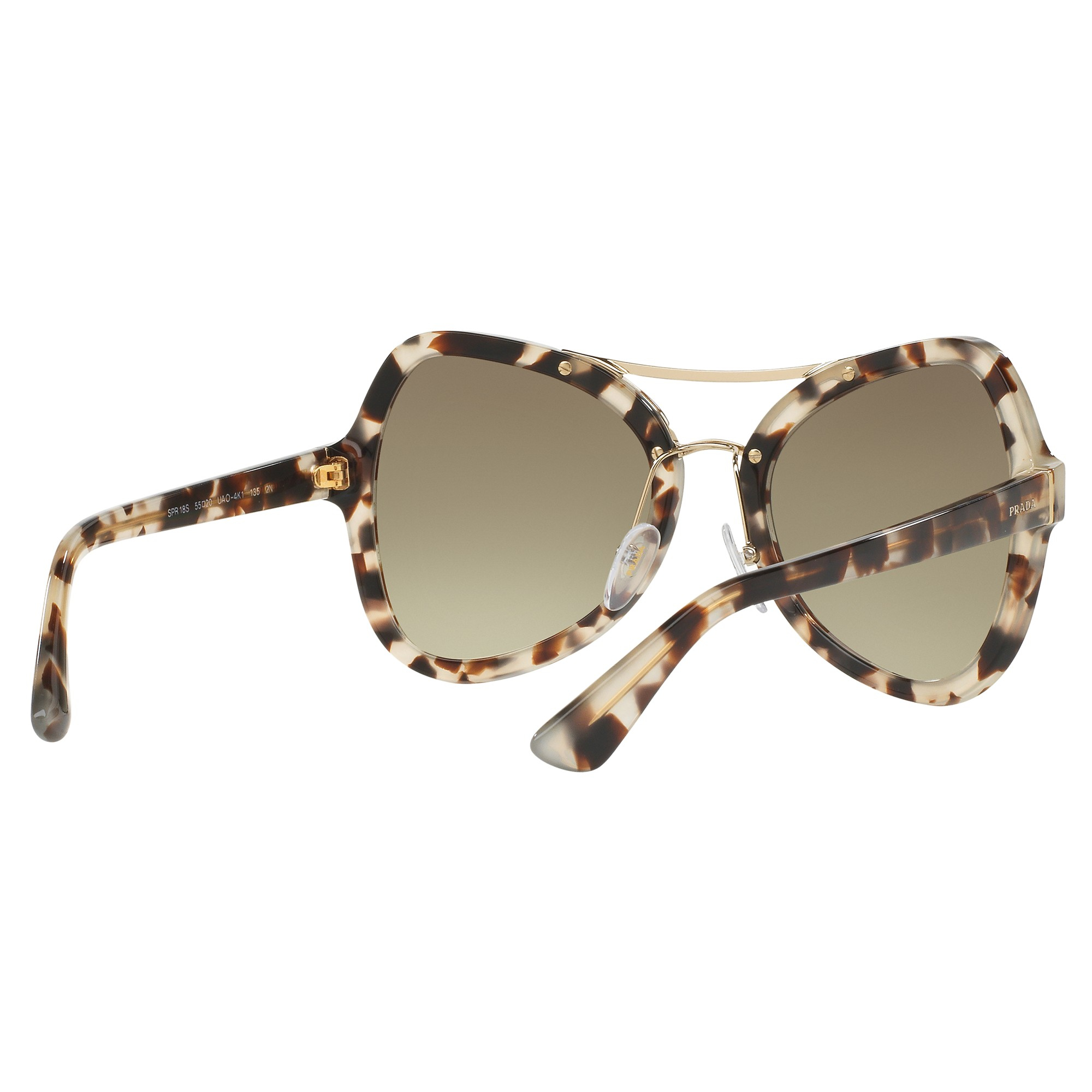 2417588e56 Prada Pr18ss Butterfly Gradient Sunglasses in Green - Lyst