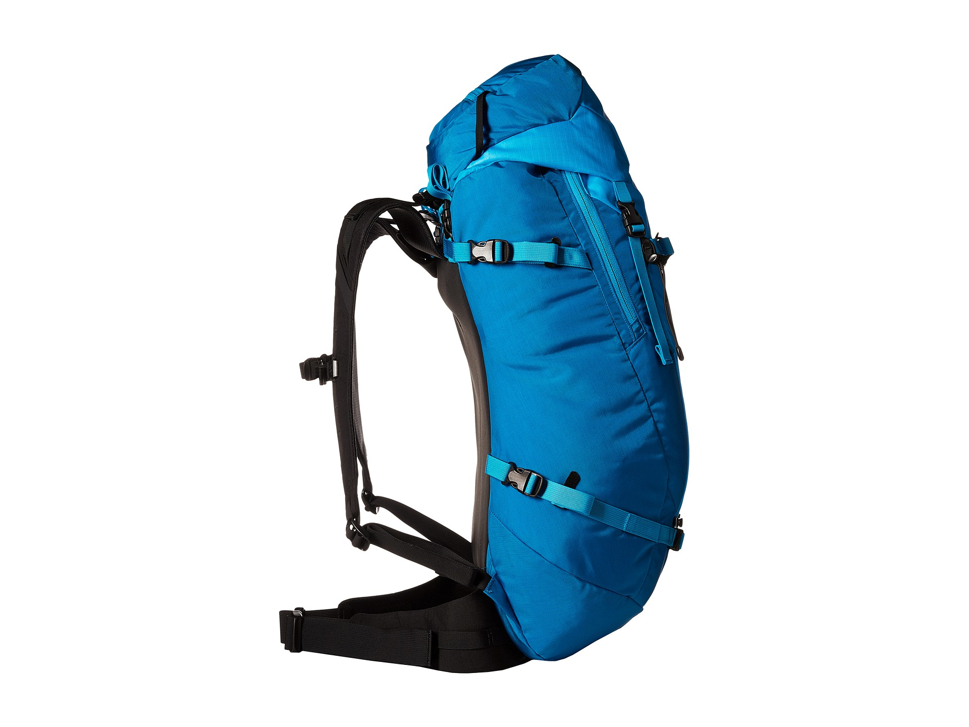 arc teryx khamski 38 backpack in blue ionian blue lyst
