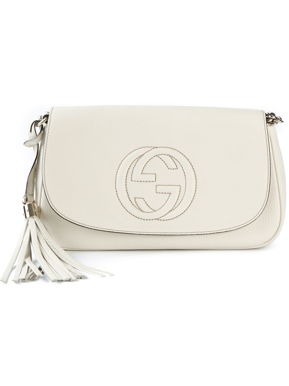 Gucci Handbags White Color