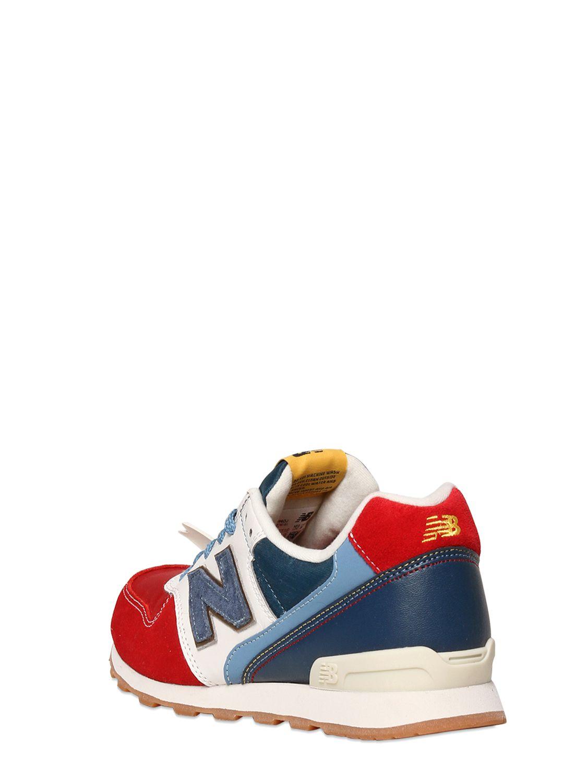 Footaction Vente En Ligne New Balance 996 Suede and Nylon Sneakers Vente Pré Commande OFDRSms7N2