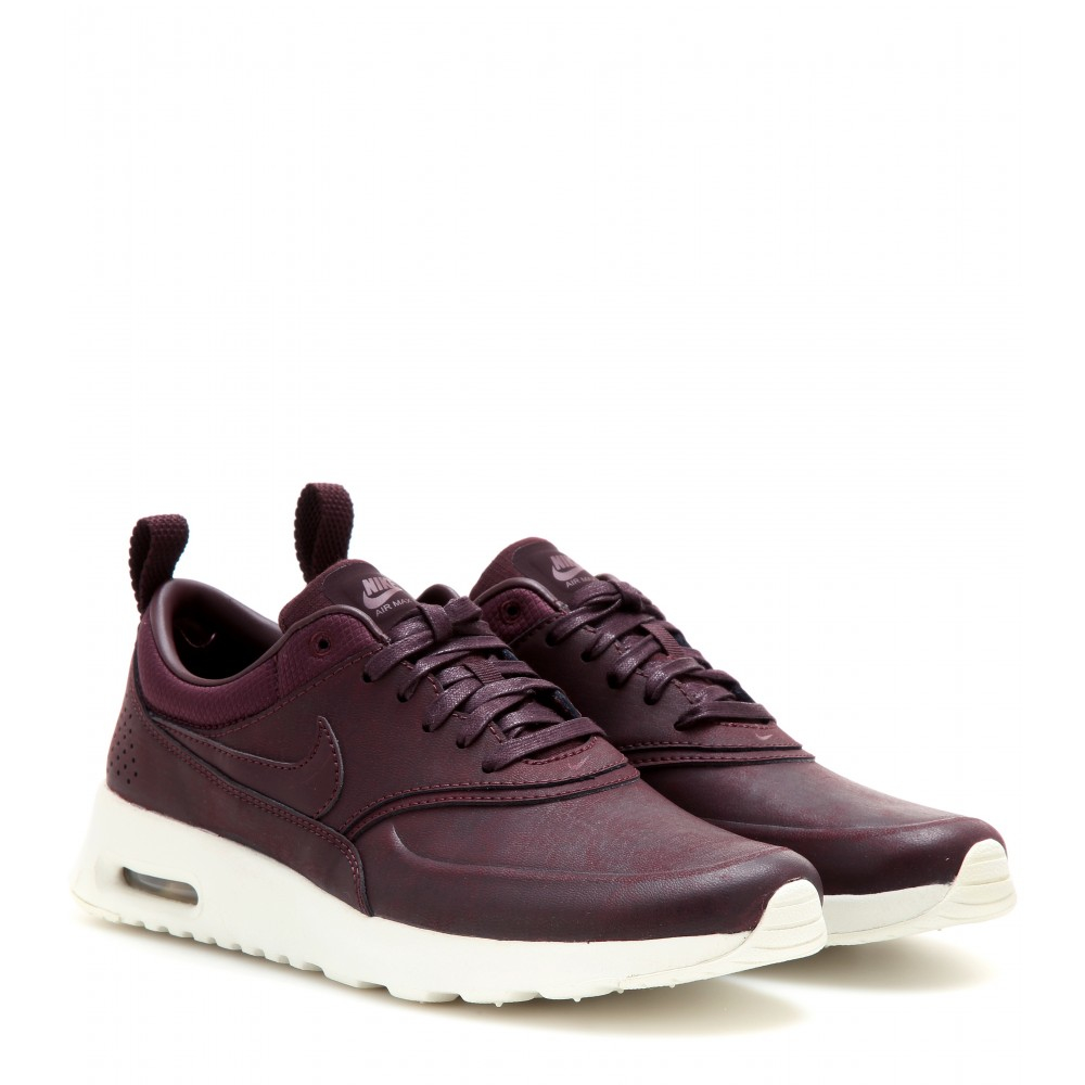 nike shox conundrum - Nike Air Max Thea Premium Sneakers in Purple | Lyst