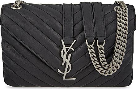 Saint Laurent Monogram Medium Quilted Leather Satchel d48592e97934d