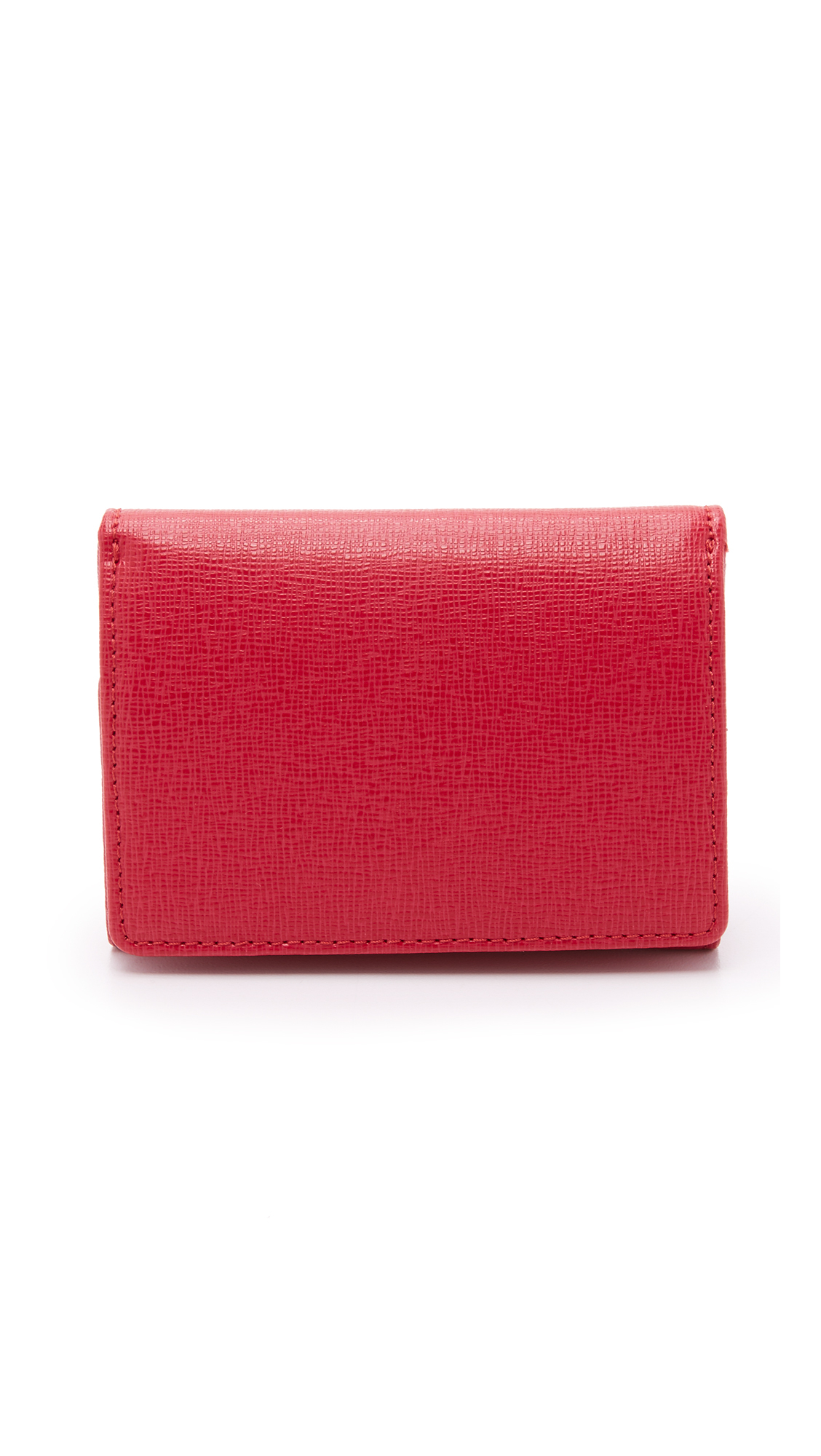 Furla Babylon Small Trifold Wallet - Ruby in Red   Lyst
