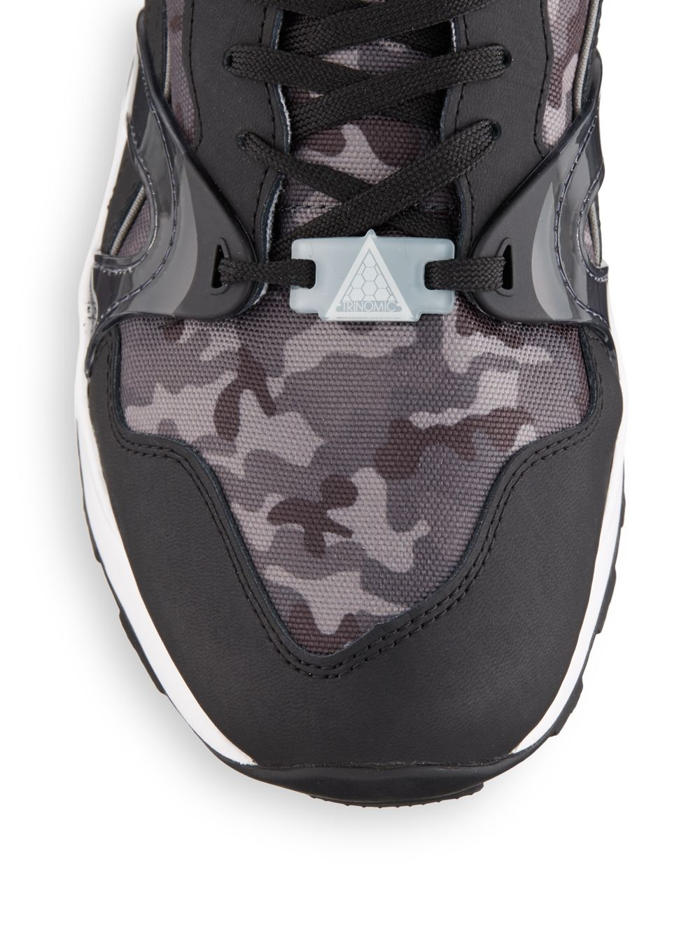best service 82435 40f52 PUMA Camo-print Sneakers in Black for Men - Lyst